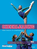 Cheerleading banner backdrop