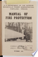 Manual of Fire Protection