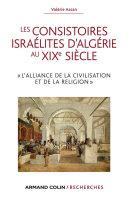 Les consistoires israélites d'Algérie au XIXe siècle [Pdf/ePub] eBook
