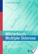 Wörterbuch Multiple Sklerose