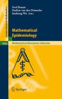 Mathematical Epidemiology Pdf/ePub eBook