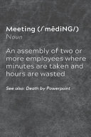 Meeting Definition
