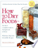 Download How to Dry Foods Book