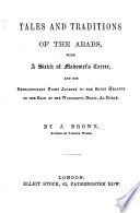 Tales and traditions of the Arabs