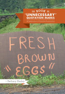 The Book of 'Unnecessary' Quotation Marks Pdf/ePub eBook