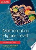 Books - Mathematics For The Ib Diploma: Mathematics Higher Level Exam Preparation Guide | ISBN 9781107672154