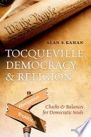 Tocqueville  Democracy  and Religion