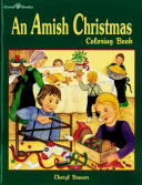 An Amish Christmas Coloring Book