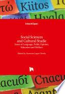 Social Sciences and Cultural Studies