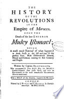 The History of the Revolutions in the Empire of Morocco Book PDF