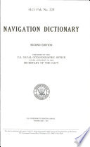 Navigation dictionary