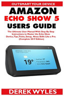 Amazon Echo Show 5 Users Guide