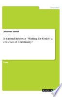 Is Samuel Beckett's