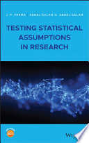Testing Statistical Assumptions in Research