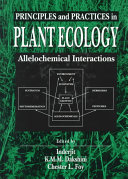 Principles and Practices in Plant Ecology