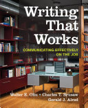 Writing That Works Communicating Effectively On The Job