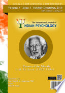 The International Journal Of Indian Psychology Volume 4 Issue 1 No 77