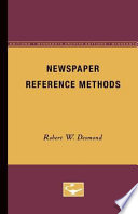 Newspaper Reference Methods Book