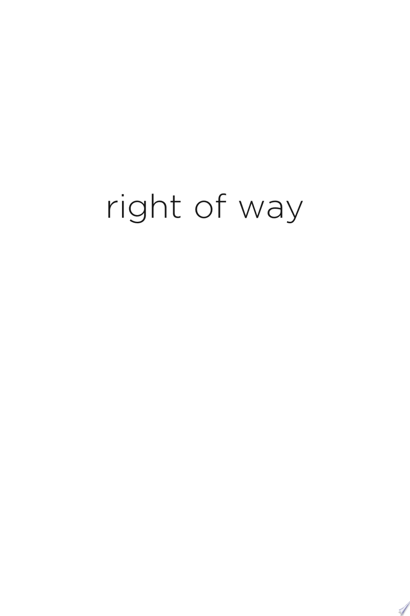 Right of Way banner backdrop