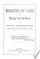 Wreaths of Love, Or, Musings from the Manse