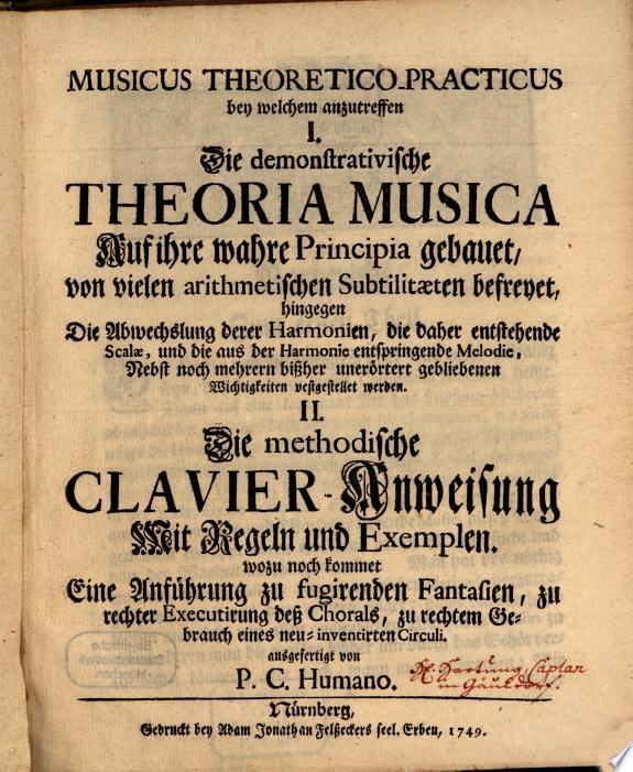 Musicus theoretico practicus