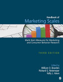 Handbook of Marketing Scales