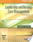 """""""Leadership and Nursing Care Management"""" by Jean Nagelkerk"""