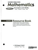 McDougal Littell Concepts   Skills California Resource Book Course 2