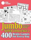 USA TODAY Jumbo Puzzle Book Super Challenge 2
