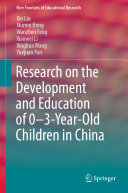 Research on the Development and Education of 0 3 Year Old Children in China