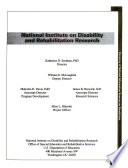 Directory Of National Information Sources On Disabilities