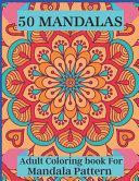 50 Mandalas Adult Coloring Book For Mandala Pattern Book PDF