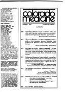 Colorado Medicine