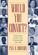 Pdf Would You Convict? Telecharger