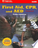 First Aid Cpr And Aed  Book PDF