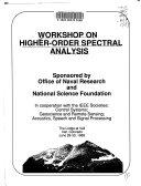 Workshop on Higher Order Spectral Analysis