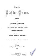 Deutsche Dichter Gaben Album Für Ferdinand Freiligrath