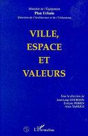 Pdf Ville, espace et valeurs Telecharger