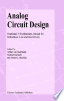 Analog Circuit Design Book PDF