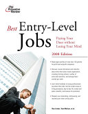 Best Entry level Jobs Book