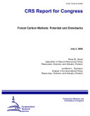 Forest Carbon Markets  Potential and Drawbacks