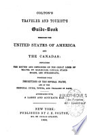 Colton s Traveler and Tourist s Guide book Through the United States of America and the Canadas Book