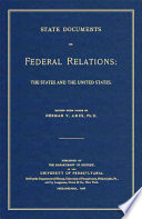 State Documents On Federal Relations