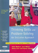 Thinking Skills and Problem Solving   An Inclusive Approach Book PDF