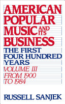 American Popular Music And Its Business The First Four Hundred Years Volume Iii From 1900 1984 [Pdf/ePub] eBook
