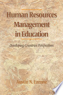 Human Resources Management In Education