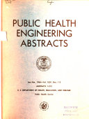 Public Health Engineering Abstracts