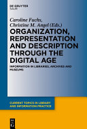 Pdf Organization, Representation and Description through the Digital Age