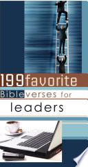 199 Favorite Bible Verses for Leaders (eBook)