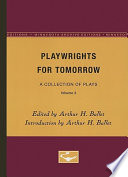 Playwrights for Tomorrow Book